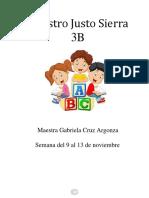 MM PMD 3° CUADERNILLO SEMANA DEL  9 AL 12 DE NOV