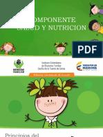 PRESENTACION  Componente Salud y Nutricion