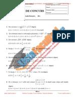 ListaFacultati.ro Subiecte Admitere Politehnica Bucuresti Algebra - Analiza 2004