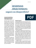 Reservas Internacionais Brasil