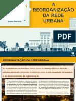 A reorganização da rede urbana P1