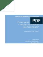 FILIM Word Rapport Numerotation Automatique Et Table Des Matieres