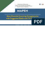 MELCs-MAPEH-2nd-Quarter