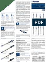 Manual de Instruções Eletrodos - Digimed