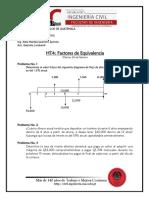 HT4. Factores de Equivalencia