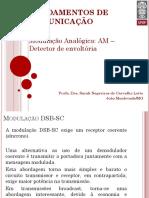 Aula5 ModulacaoAnalogica AM Detector de Envoltoria