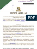 decreto 1290 2008