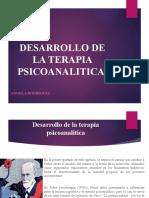 DESARROLLO DE LA TERAPIA PSICOANALITICA
