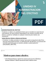 ADMINISTRACION DEL EFECTIVO