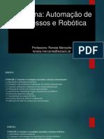 AULA 01 Robótica Renata Mercante