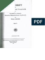 F.J. Meier, Der Archaismus in der Sprache der Bhagavata-Purana