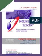 Proposal Web Sekolah SD PANDEGLANG