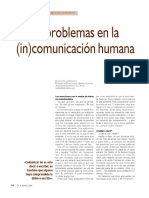 Ocho Problemas en La (in)Comunicación Humana