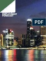 2010-2011 Singapore Salary & Employment Forecast