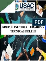 Grupos inestructurados y tecnicas delphi