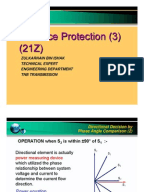 Differential protection of transformer
