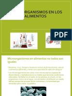 Micro Organismos En Los alimentos.