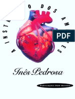 A Instrução Dos Amantes - Inês Pedrosa