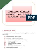 EVALUACION RIESGO BIOLOGICO BIOGAVAL