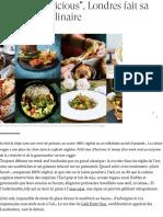 Vegan Et _delicious_, Londres Fait Sa Révolution Culinaire - Madame Figaro