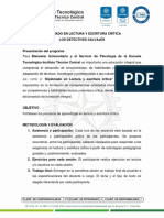 DIPLOMADO LECTURA Y ESCRITURA  CRITICA