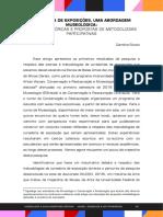 CURADORIA DE EXPOSIÇÕES, UMA ABORDAGEM