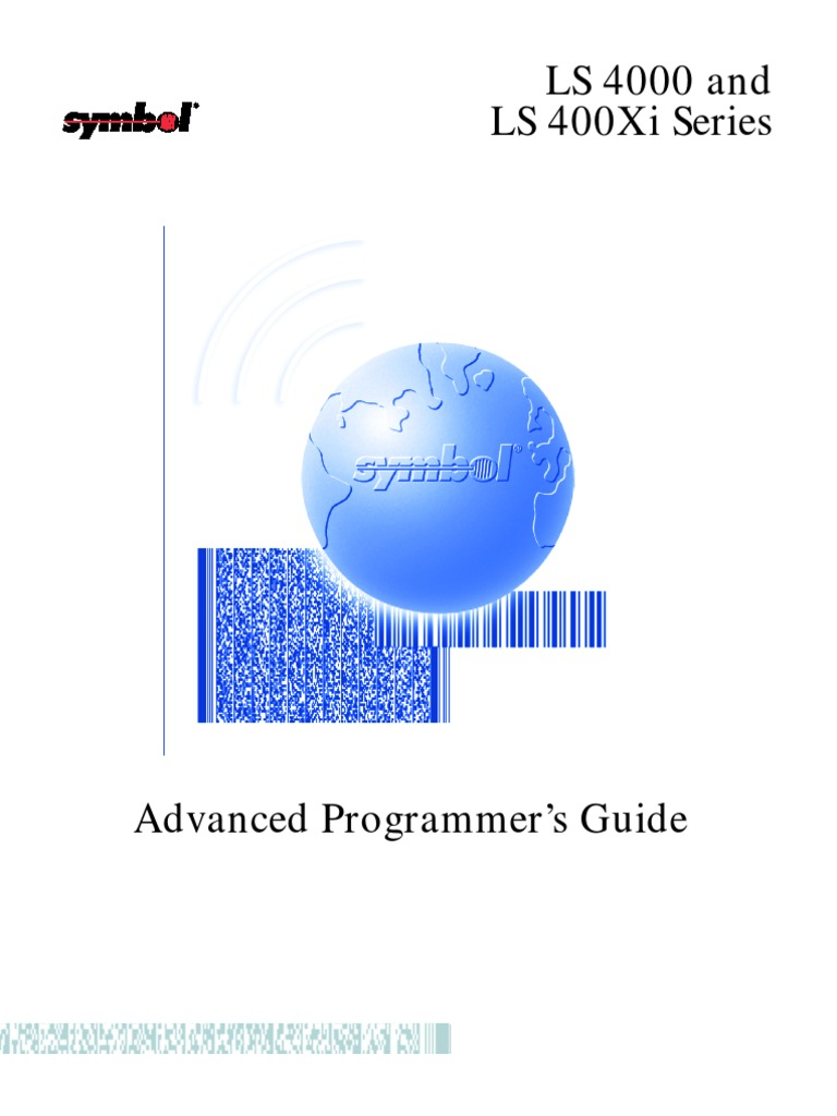 Symbol Ls4000 Programmers Guide Universal Product Code Barcode