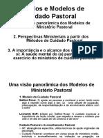 Slide - Metodos e Modelos Do Cuidado Pastoral