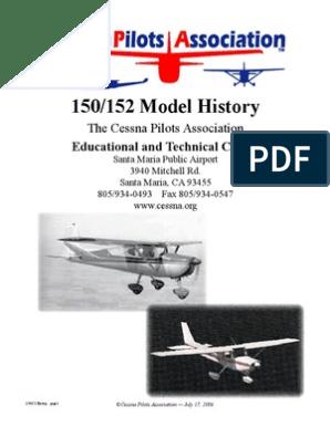 Cessna 150/152 Aircraft History | Landing Gear | Flap