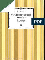 Kholopov Garmonicheskiy Analiz Chast 2 2001