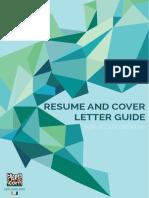 Resume Cover Letter Guide