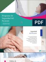12 Induccion Programa Seguridad Del Paciente