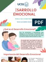 DESARROLLO EMOCIONAL