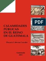 Calamidades públicas en el Reino de Guatemala - Cabezas