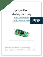 Static specification sensor