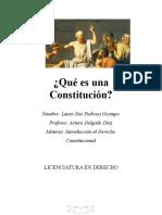 Qué es una Constitución FERDINAND LASALLE
