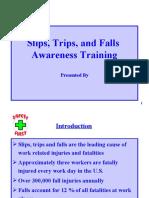Slip,Trip,Fall Awareness Programme