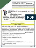 TD REVISÃO AV PARCIAL LP- TRIM 1