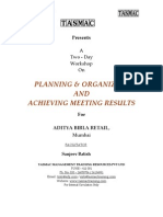 Planning  Organizing-participant manual