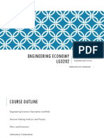Handout Week 1 - Foundations of Engineering Economy