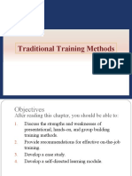 Traditional Training Methods - PPT 7