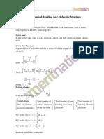 Chemical Bonding class XI notes