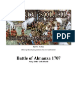 Battle of Almanza 1707