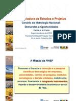 FINEP cenario_metrologia_nacional 2006