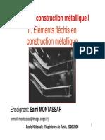 Cours CM 1 Chapitre 2 Eléments Fléchis en Construction Métallique 08 09