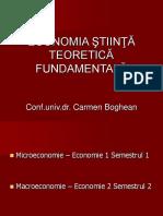 Curs 1. Stiinta economica
