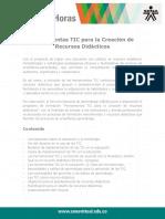 Herramientas TIC Creacion Recursos Didacticos