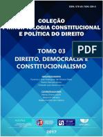 E-book 2017 Direito, Democracia e Constitucionalismo - Tomo 03