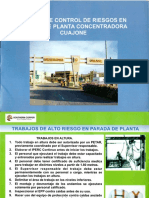 SPCC Manual Control Riesgos Parada Concentradora Cuajone