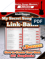 My Secret Songbooks Link Bank